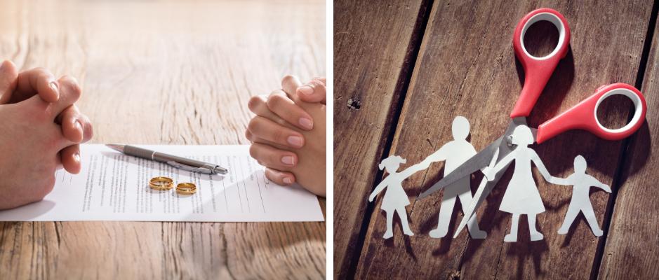 Divorciar con hijos